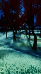 Misty Path Drossel