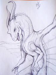Drake sketch by NepuApsadee