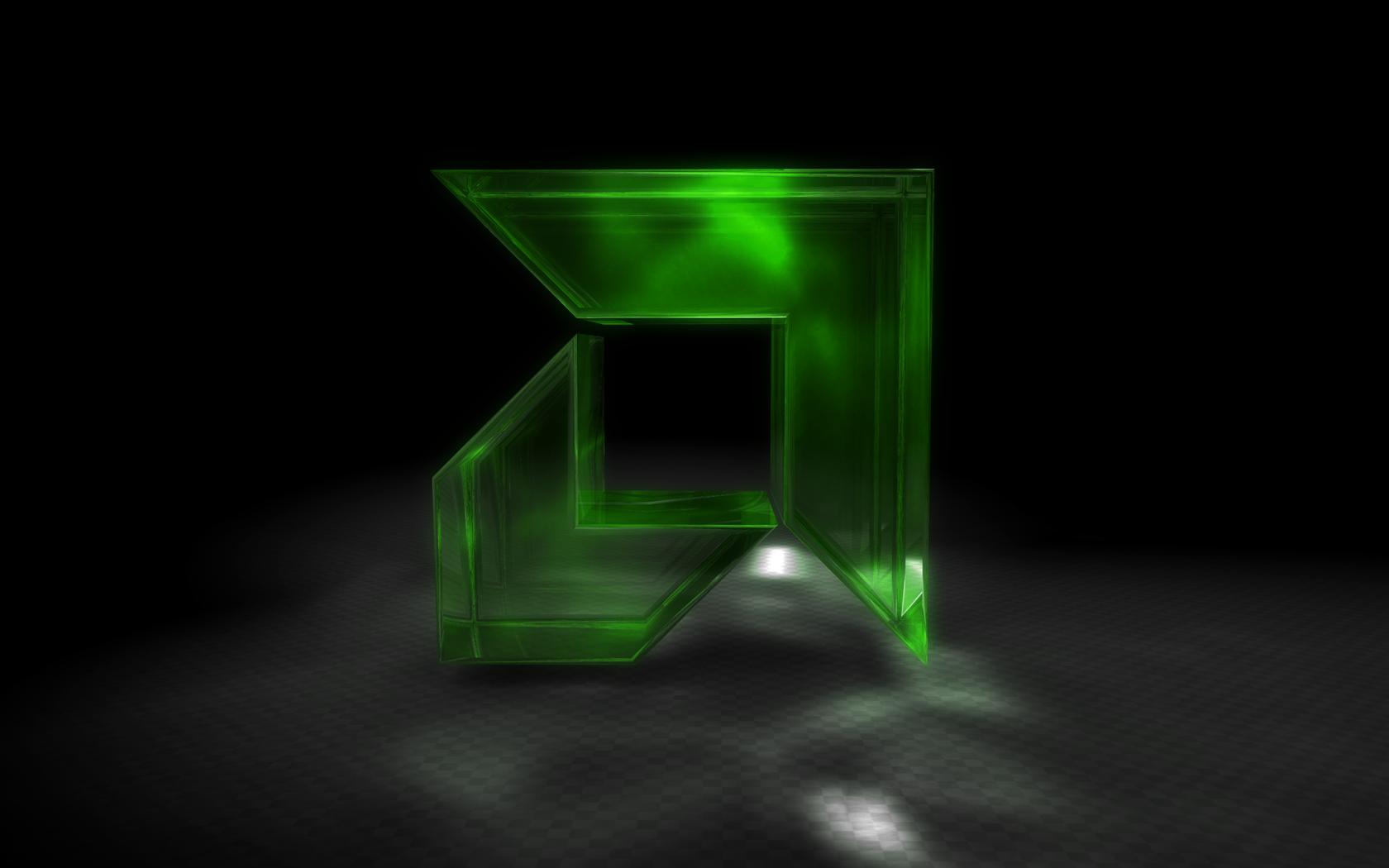 3d amd logo by Fabian4D