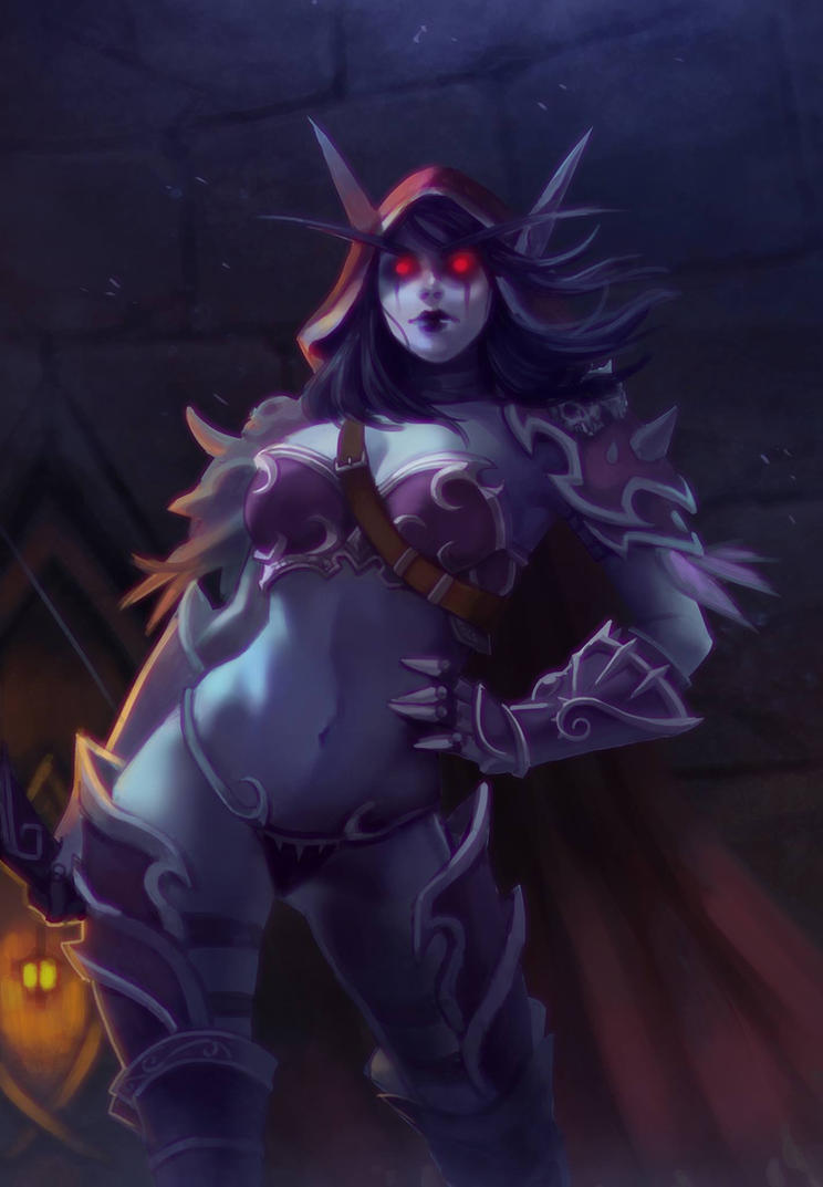 Sylvanas Windrunner by kayeinou on DeviantArt