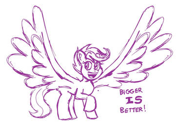 Scootawings by SB99stuff