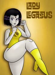 League of Legasus by SB99stuff