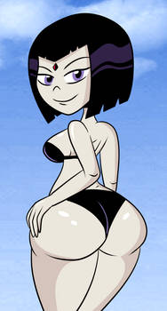 Bikini Raven