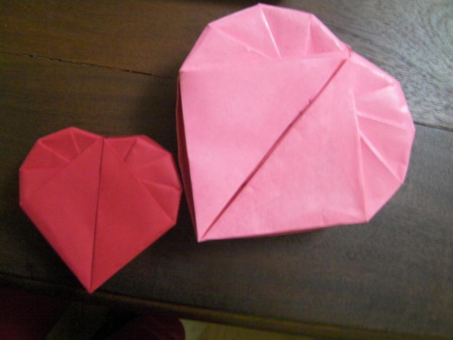 origami heart box instructions origami free engine image