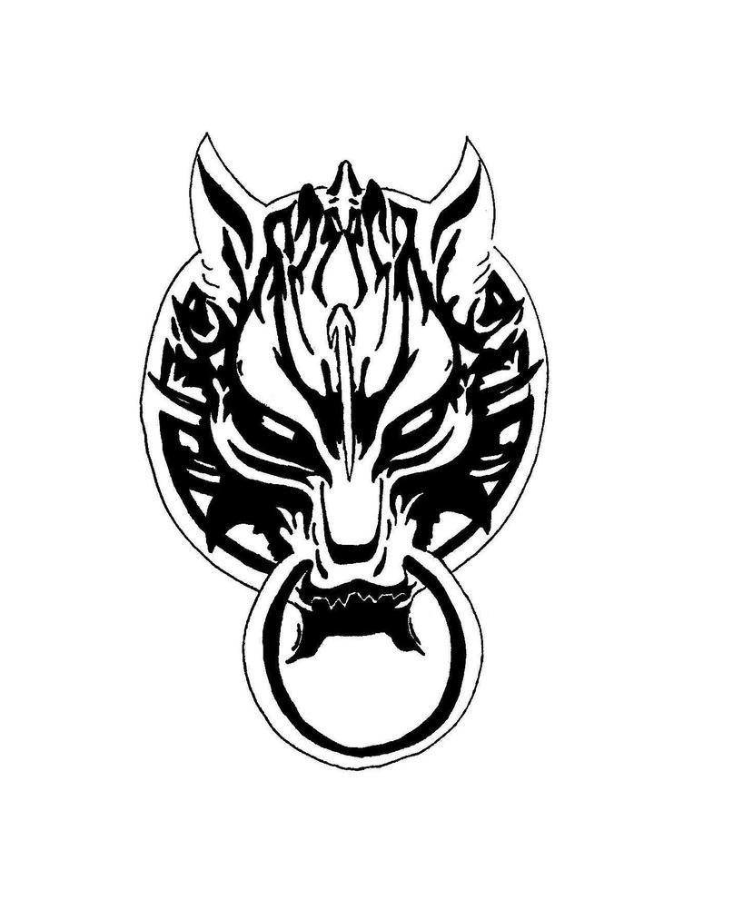 Fenrir wolf symbol - photo#8