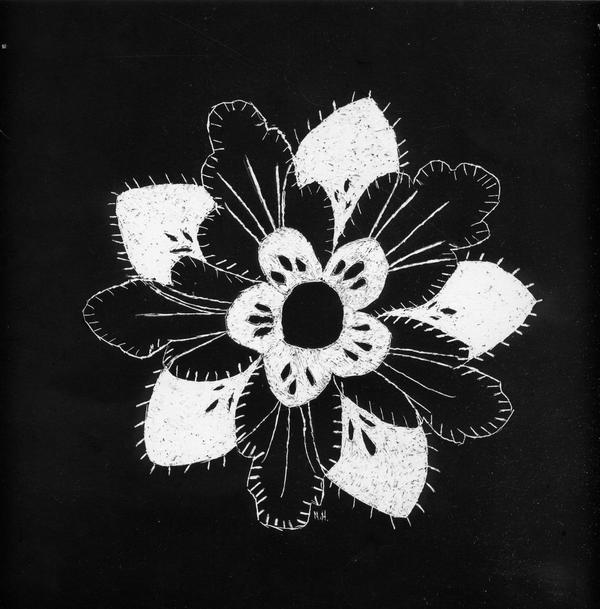 Scratch Art Flower By Zovi On DeviantArt