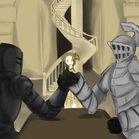 Havel armwrestling Tarkus by SimZz