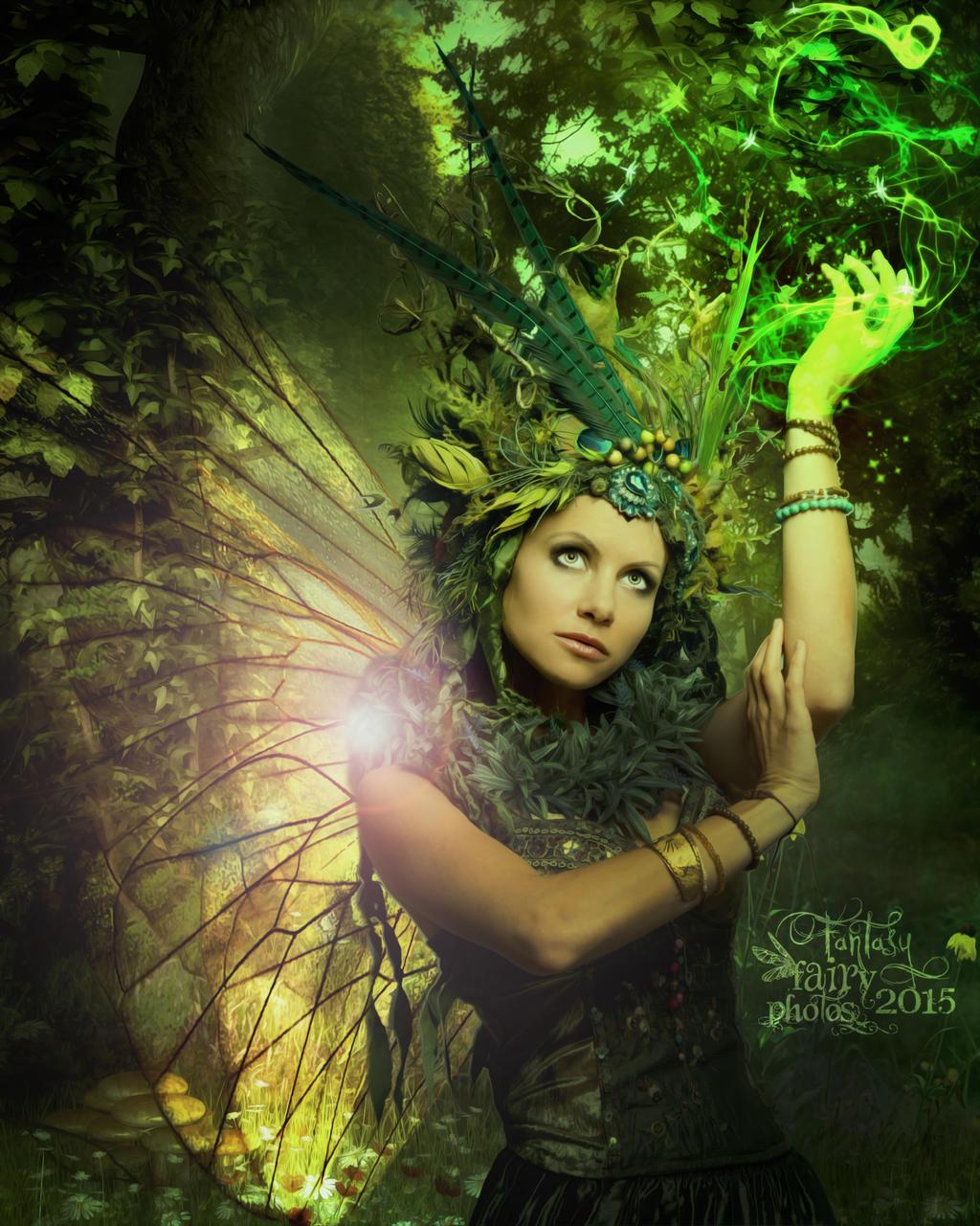 Green Woods by juliet981