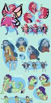 Bassy Character Designs