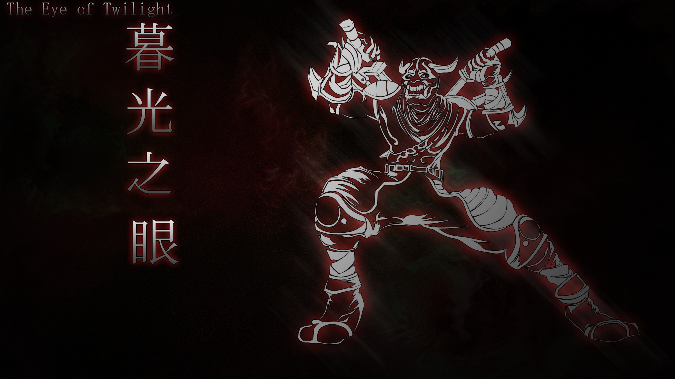 Shen Blood Moon Wallpaper by kyoar