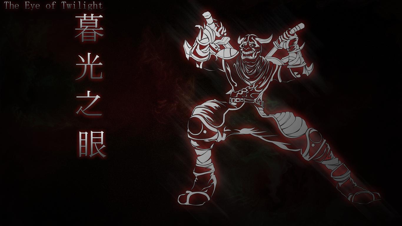 Shen Blood Moon Wallpaper by kyoar