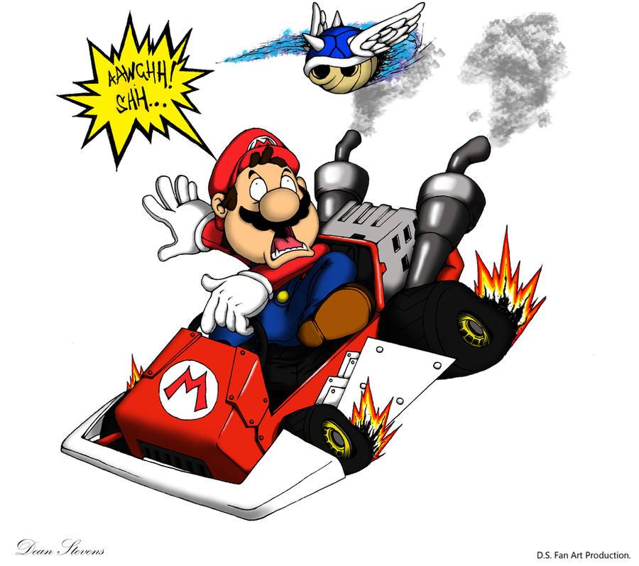 Mario Kart - Ohh, hellll noo!! by SuperDeano1