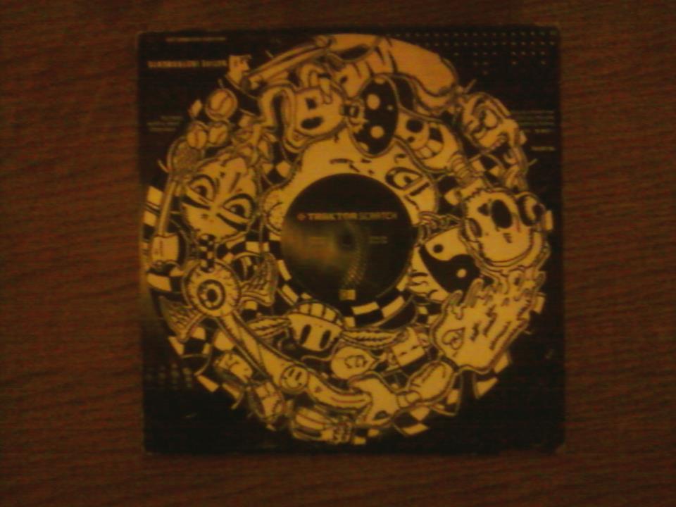 Traktor Scratch Vinyl White by Lesalisacion