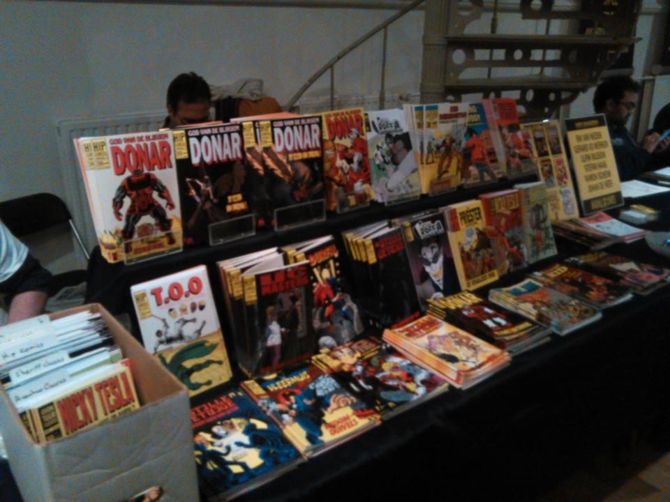 Comic Convention 28 feb/march 1 2015 Rotterdam by rikvanniedek