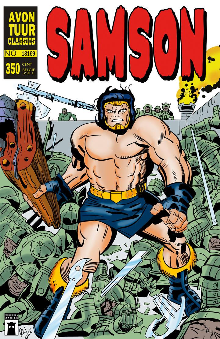 SAMSON 1 cover A by rikvanniedek