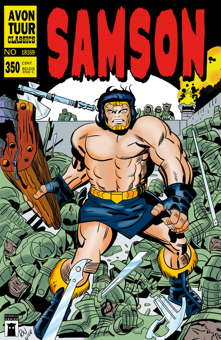 SAMSON 1 cover B by rikvanniedek
