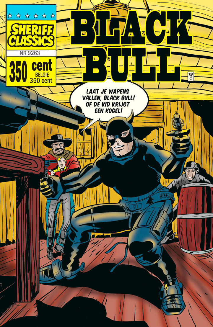Sheriff Classics 9263 starring the Black Bull by rikvanniedek