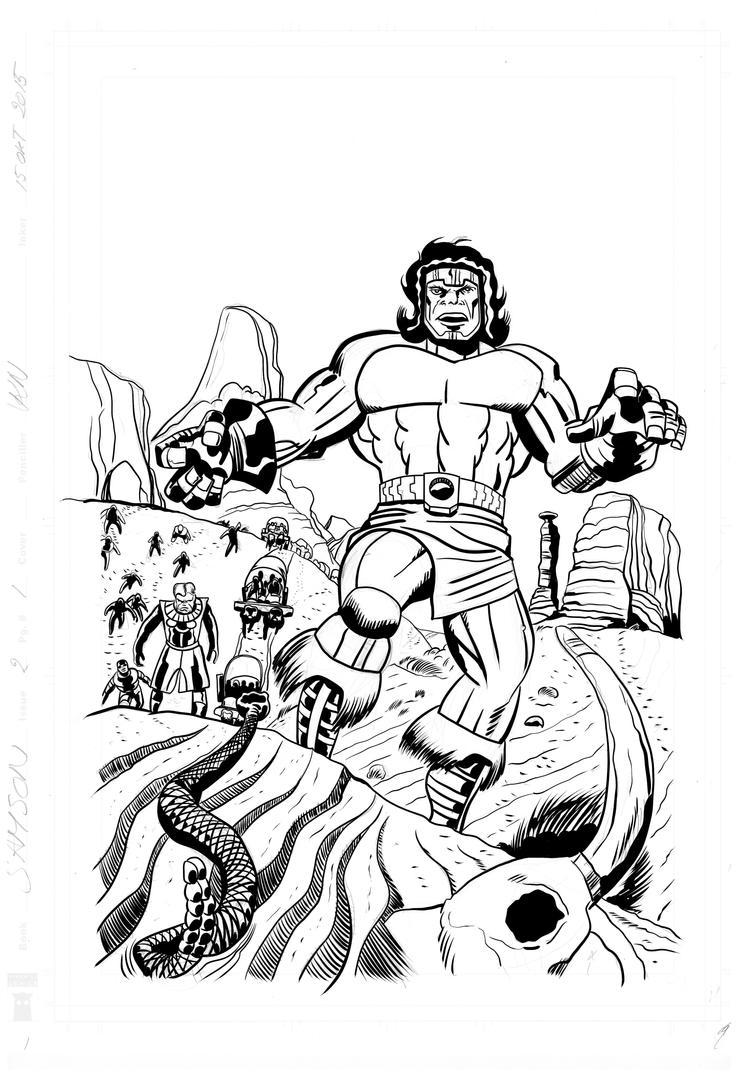 Samson 2 Splash by rikvanniedek