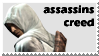 assassins creed Stamp by sketchedmonkey