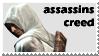 assassins creed Stamp