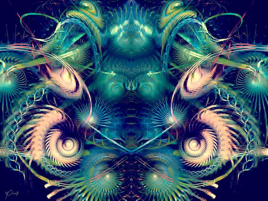 crazy galaxy by swinck