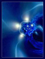 Lights on blue by swinck