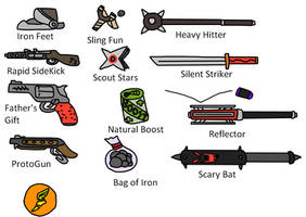 TF2 Scout Weapons