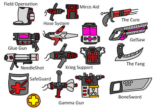 TF2 Medic Weapons