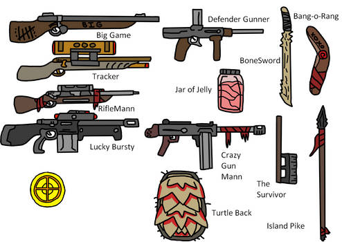 TF2 Sniper Weapons