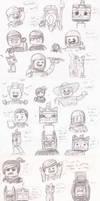 So Many Lego Sketches