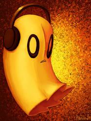 Spooky Bloo Bloo by Paleodraw