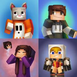 Minecraft Commission Batch 3