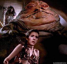 Slave Leia: Jabba Yanks Leia's Chain