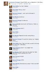 Facebook- Dramione Rumors by avJetAMIE