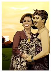 Shiny Happy Couple v.01 by balung