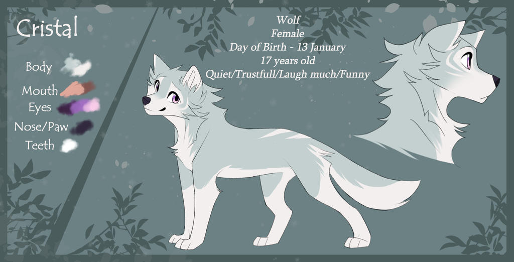 Cristal Wolf|Reference|2018 by CristalWolf567