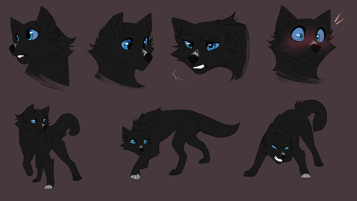Lucolly Salvatore [Sketch page and AT NOT Open] by CristalWolf567