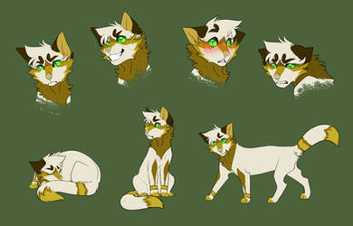 Janus [Sketch Page - Commission] by CristalWolf567