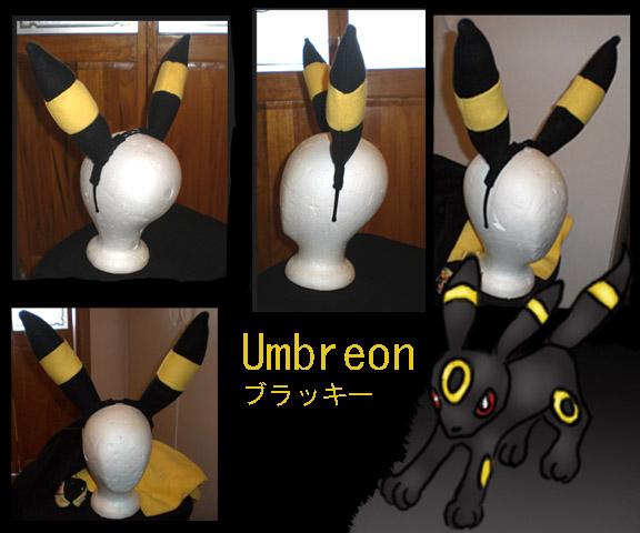 how to make umbreon ears