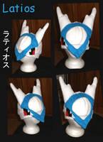 Latios hat new by Gijinkacosplay