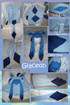 Glaceon hoodie with scarf