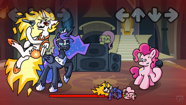 Pinkie Pie vs The Royal Sisters