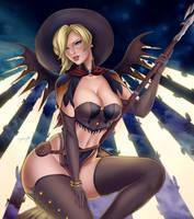 Witch Mercy by ryoroy