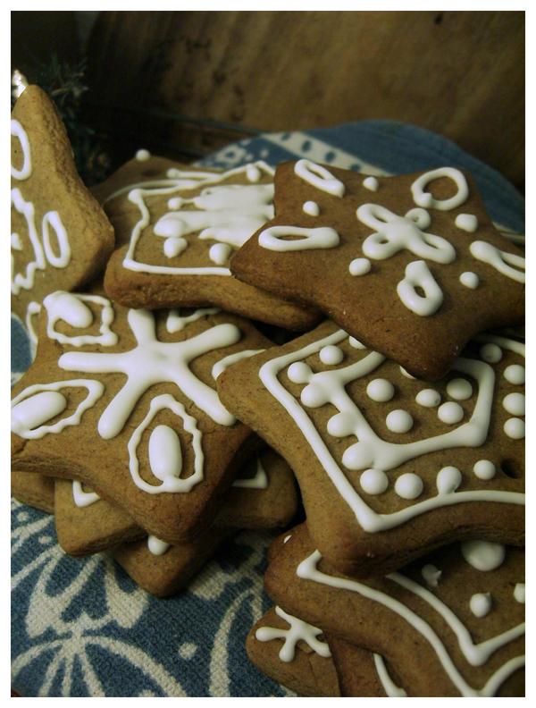 Christmas Stars by Lizbeta