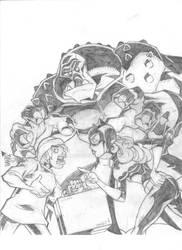 BATGIRL roughs COVER 1b 001