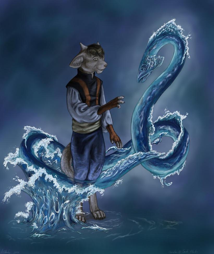 Inverloch - Acheron Fanart by Luthrai