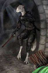 Elder Scrolls SneakAbout by Luthrai