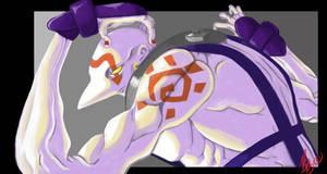 Necro SF3 by blueyoshimenace