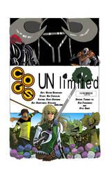 Yen Press comic cover by blueyoshimenace