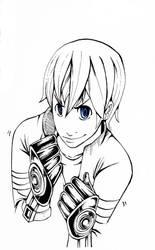 Character concept by blueyoshimenace